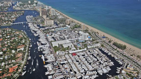 Events such as the Fort Lauderdale International Boat Show are an excellent place for crew to further their superyacht careers.