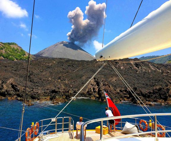 "India's only active volcano-""Barren-Island"" erupts in Andaman and Nicobar"