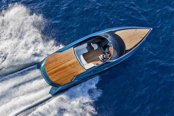 Quintessence Yachts showcases AM37S at Monaco Yacht Show