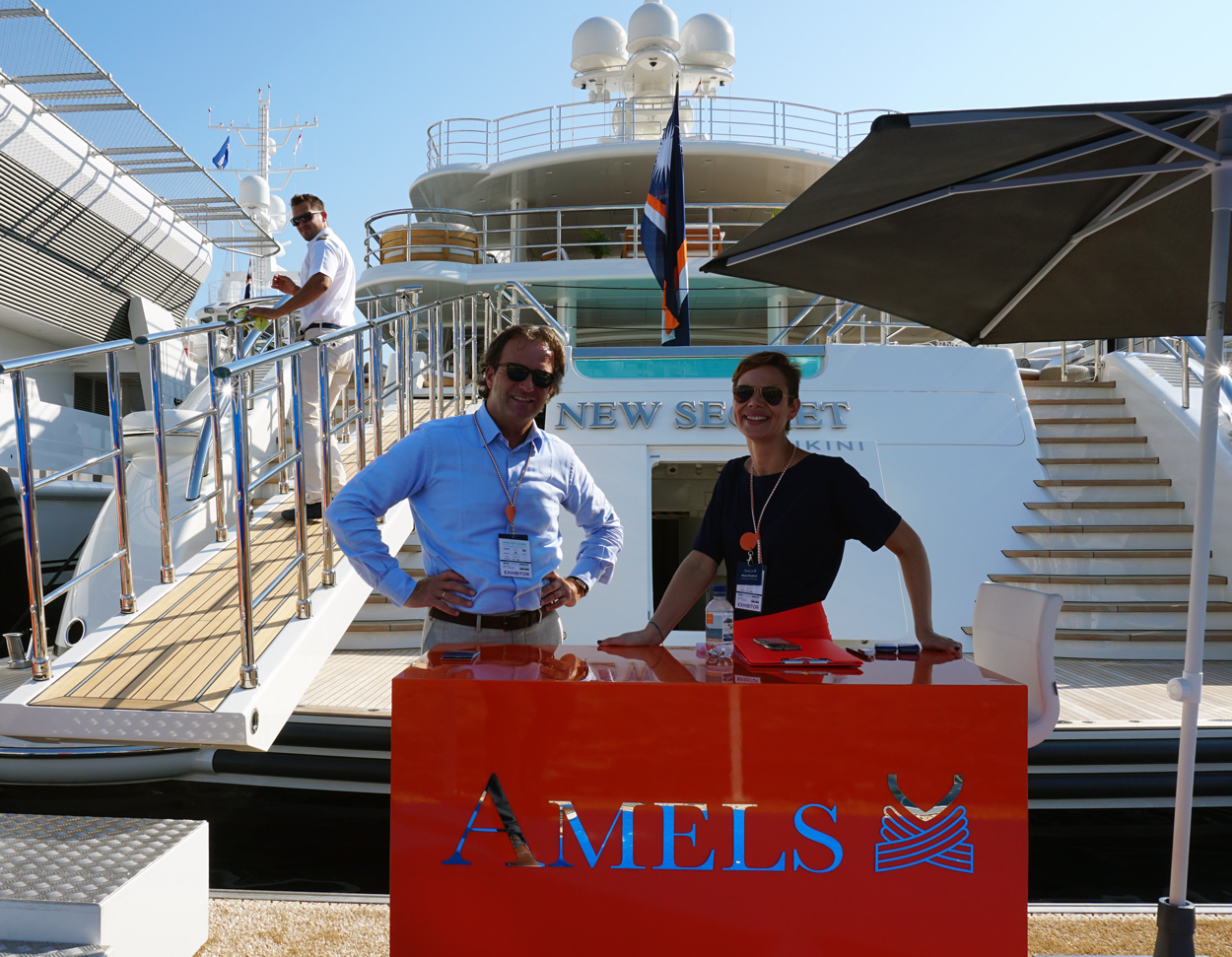 Amels at Monaco Yacht Show