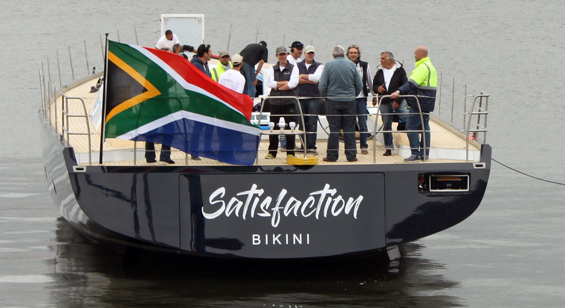 Satisfaction Splashes in South Africa as 1st SW105
