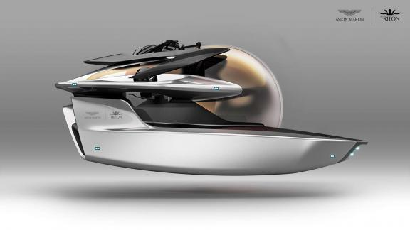 "Aston Martin and Triton Submarines announce ""Project Neptune"""