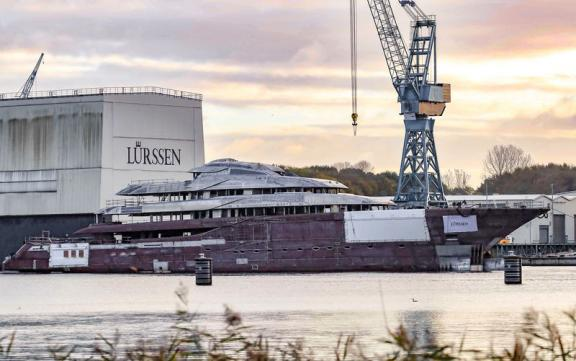 Brand New 98-metre Lürssen Superyacht build