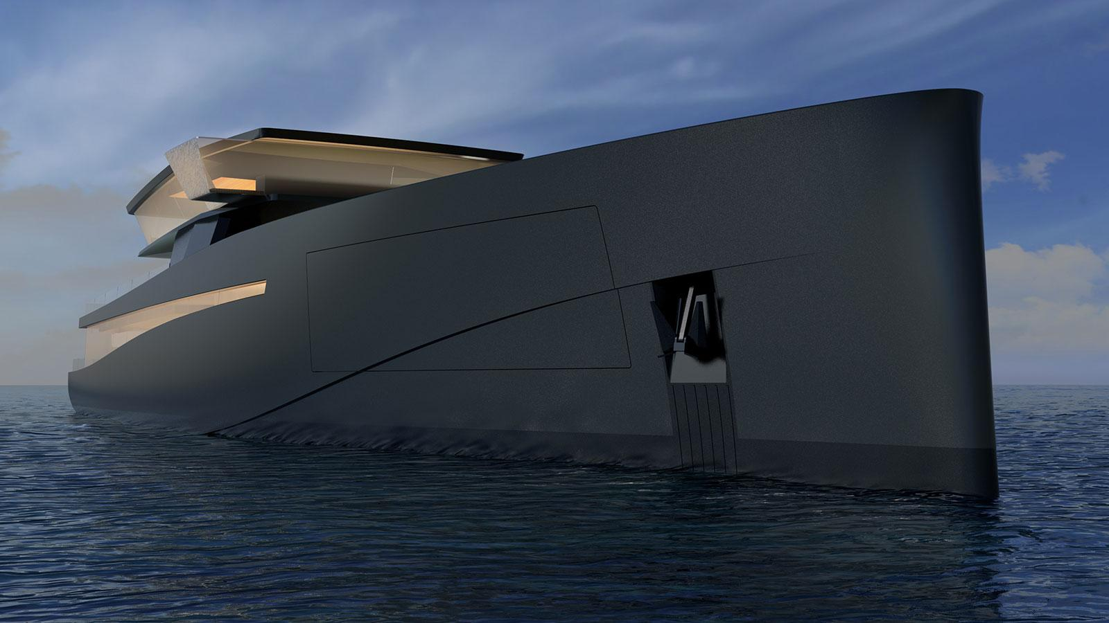 Wally teams up with Nobiskrug for 83m superyacht explorer concept