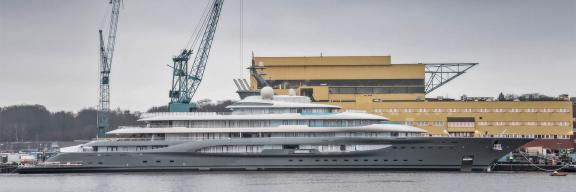 Lürssen launches 130m+ secret superyacht project
