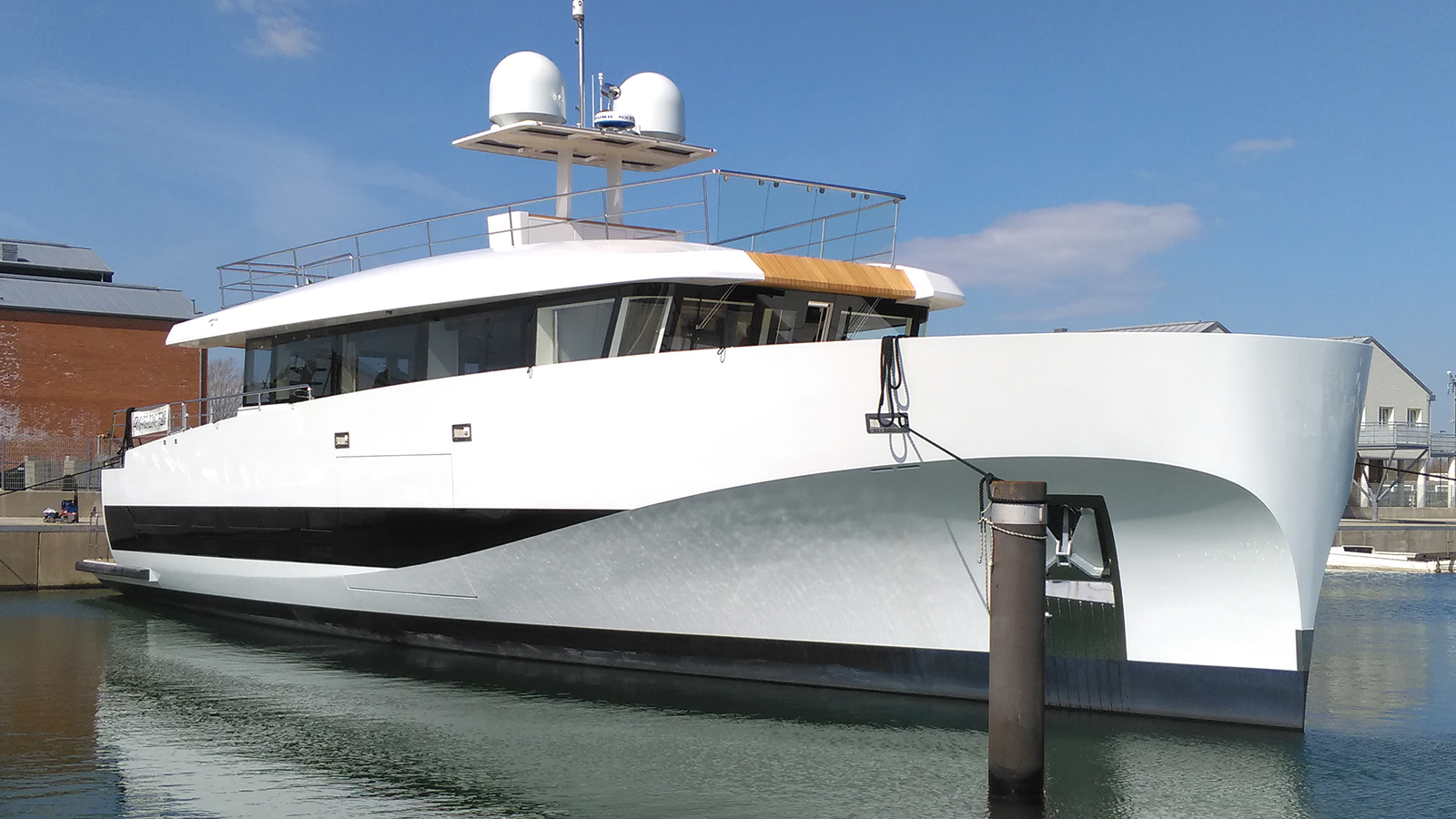 The Launch of the 5th Wallyace 27 Yacht Christened 'Private GG'